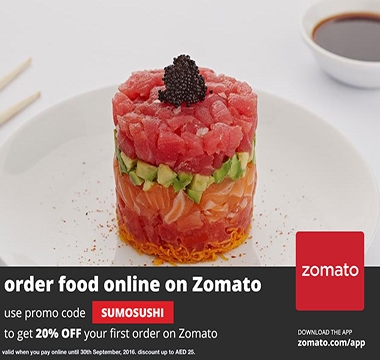 Receive 20% Off your First Order on Zomato!