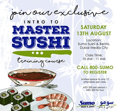 LEARN THE TRADITIONAL ART OF SUSHI