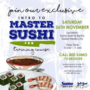 SUMO SUSHI CLASS