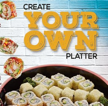 Create your Own Platter @ Dubai Silicon Oasis