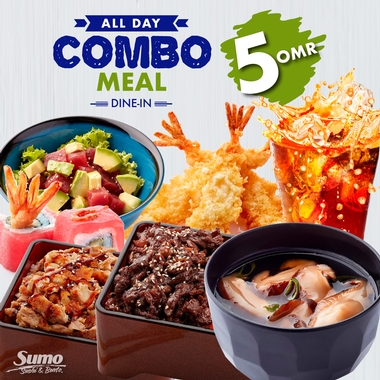 Combo Meal for only 5.00 OMR!