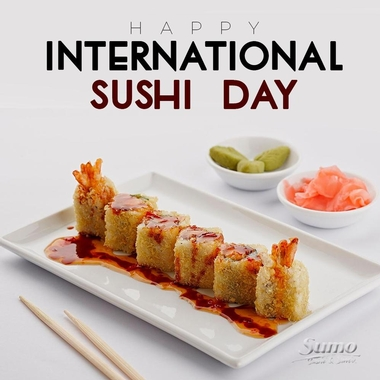 Happy International Sushi Day!