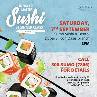 Sushi Beginner Class