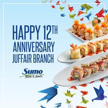 Happy 12th Anniversary Juffair Branch