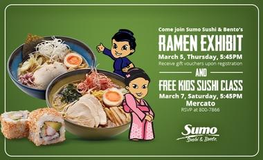 Ramen Exibit and Sushi Class