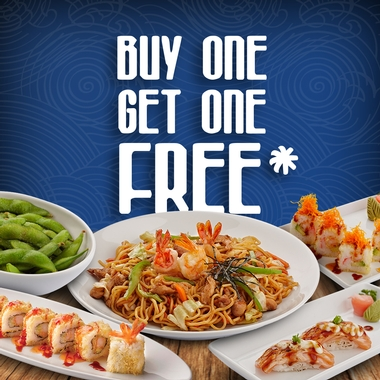 Buy One, Get One FREE!!!