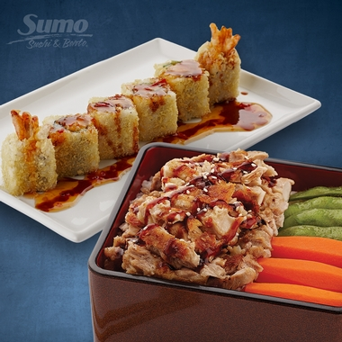 Buy One Bento, Get One Roll* FREE